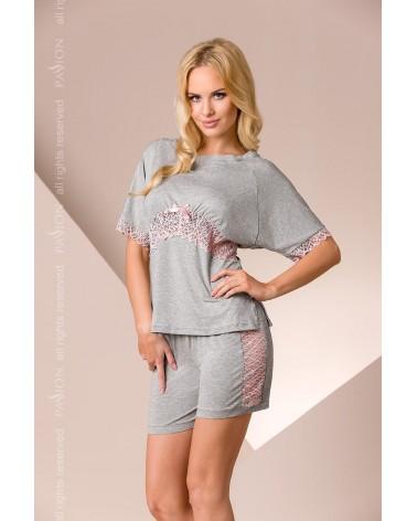 Csipkés szürke pizsama