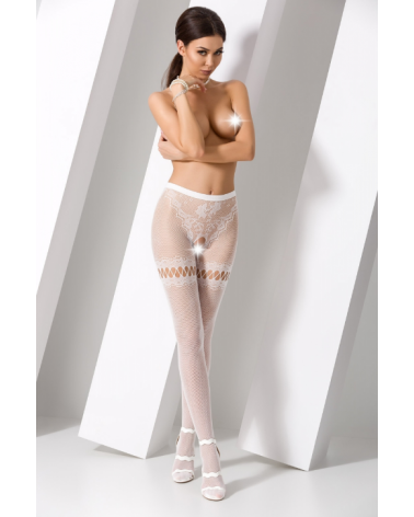 Anemone szexi fehér harisnya Harisnyák  Passion