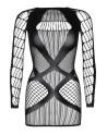 Helena fekete mini dressz