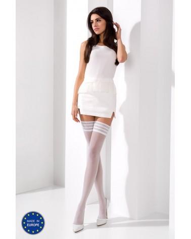 Bianca fehér színű combfix (17 Den) Combfix