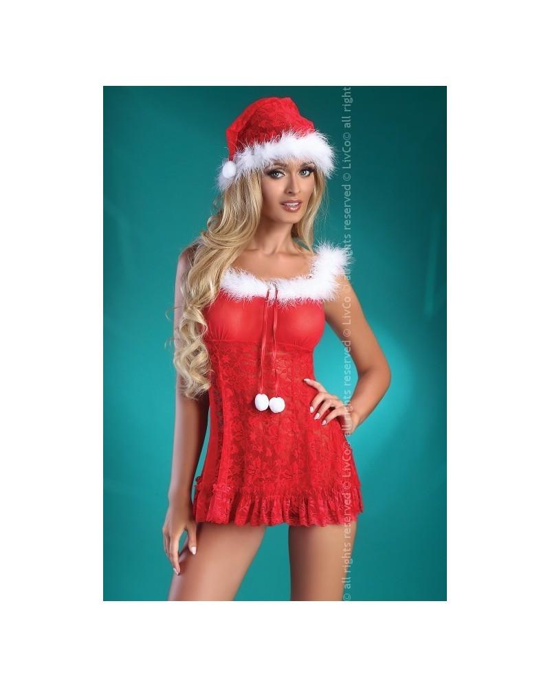 Christmas Bell Mikuláslány jelmez sérült csomagolással Sérült csomagolású termékek  Livia Corsetti