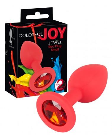 Colorful JOY - strasszos szilikon anál dildó - kicsi Anális kényeztetés  You2Toys