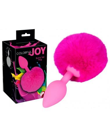 Colorful JOY - anál dildó nyuszifarokkal Anális kényeztetés  You2Toys