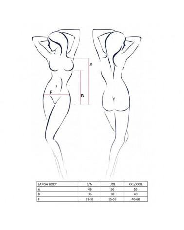 Larisa fekete-fehér body Body
