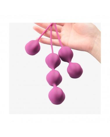 Cotoxo Belle - 3 részes gésagolyó szett lila színben Gésagolyó