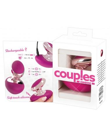 Couples Choice - akkus, mini masszírozó vibrátor Vibrátorok