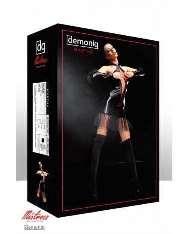 Martha premium fekete szett Demoniq