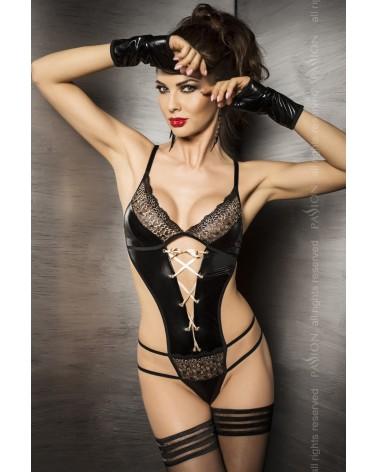 Agawa fekete csipkés body Body  Passion
