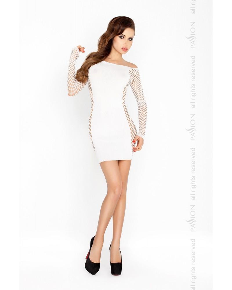 Brittany erotikus ruha, fehér színben