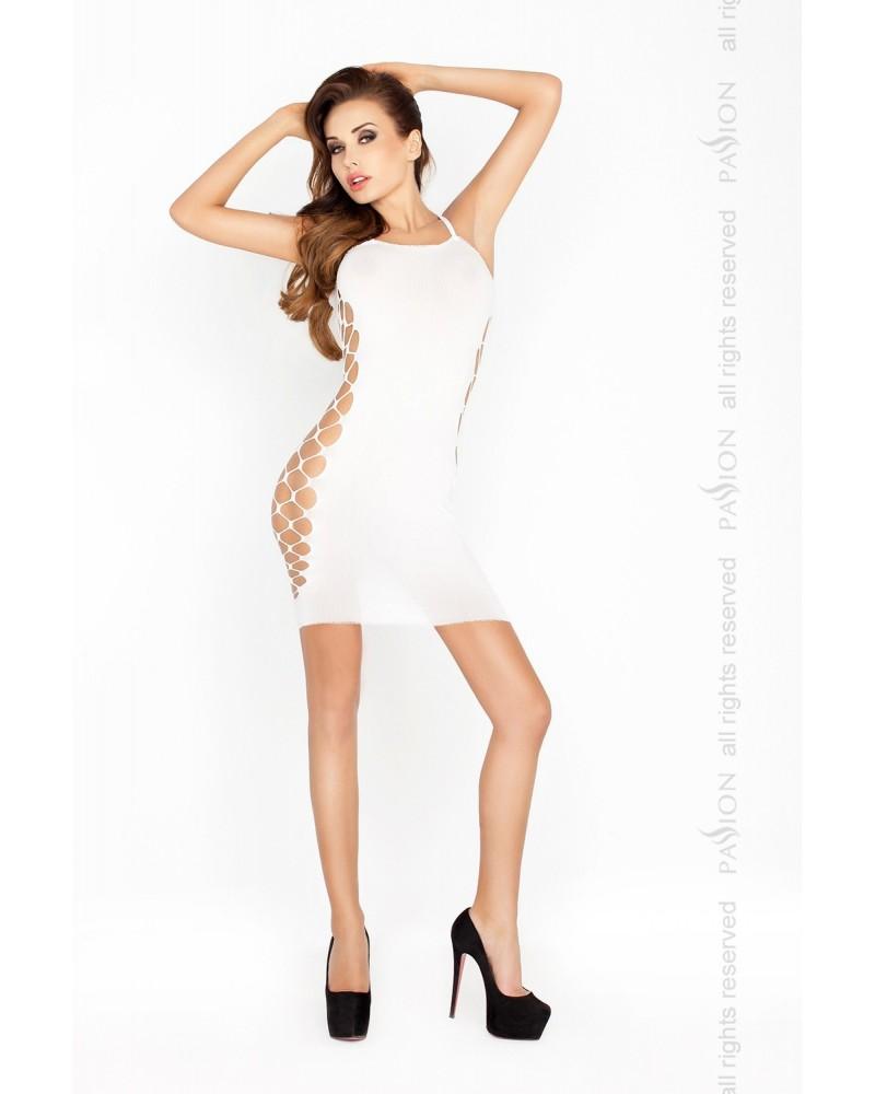 Amanda erotikus ruha, fehér színben