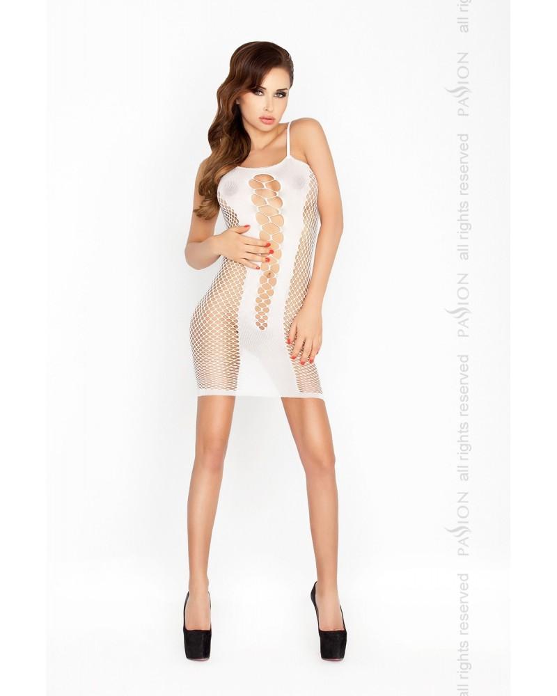 Elizabeth erotikus ruha, fehér színben