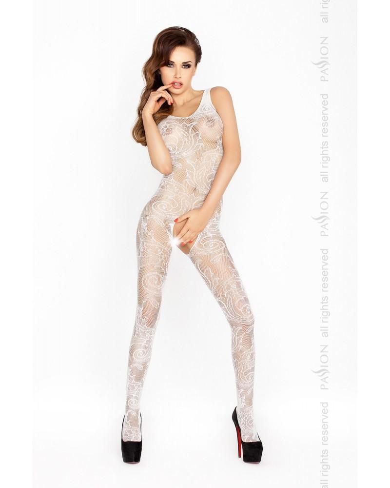 Tiffany cicaruha, fehér testharisnya