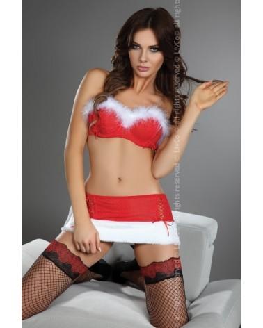 Santas Bodydolly szexi mikuláslány jelmez Ünnepi különkiadás