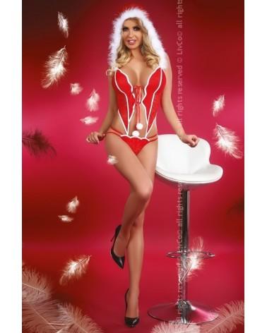 Christmas Girl mikuláslány jelmez / body Livia Corsetti