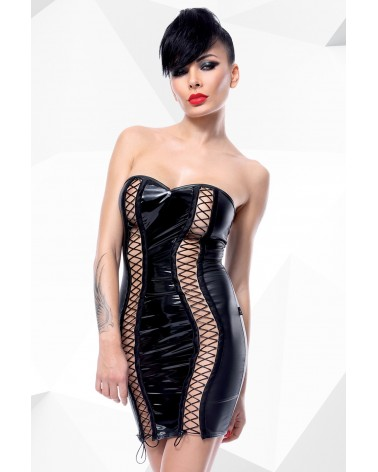 Astrid fekete erotikus ruha Demoniq