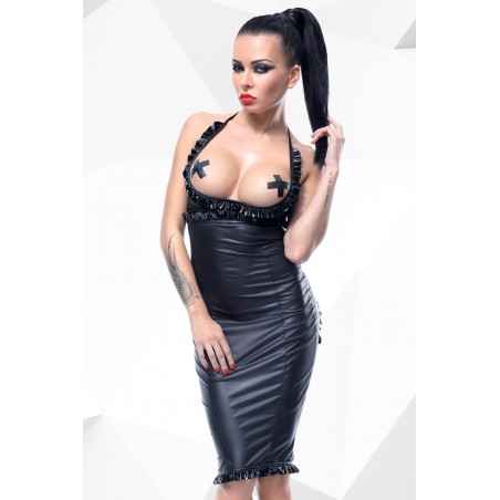 Laureen fekete erotikus ruha